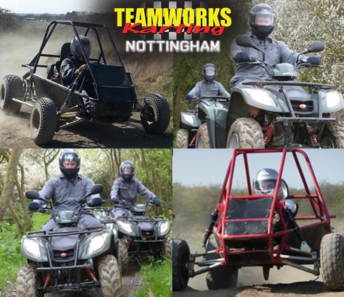 Teamworks vRacing - Nottingham Track