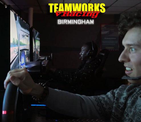 Teamworks vRacing - Birmingham Track