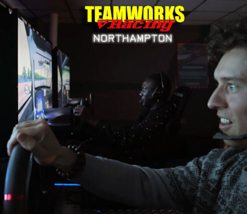 Teamworks vRacing - Northampton Track