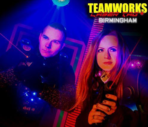 Teamworks Laser Tag - Birmingham Hall of Fame